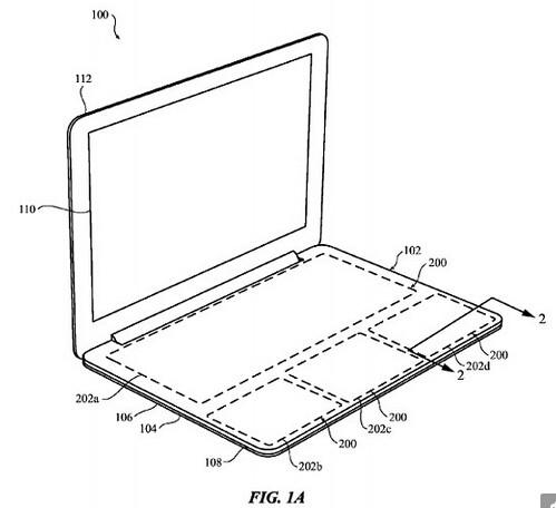苹果新专利暗示:MacBook会取消物理键盘