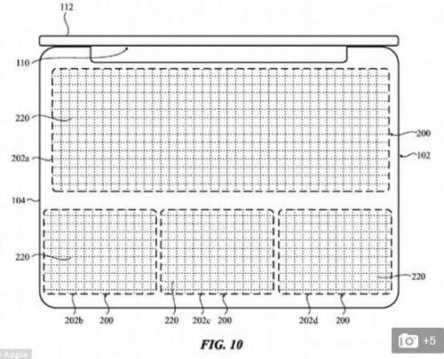 苹果新专利暗示MacBook会取消物理键盘